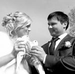 Свадебные голуби жениха и невесты