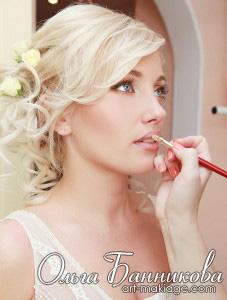 Свадебный макияж и прическа невесты
