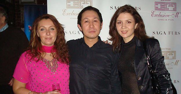 Организатор показа, Олег Тою и я