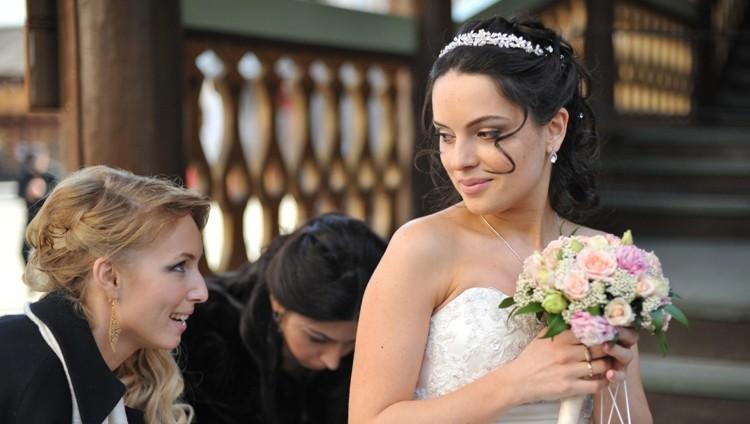 Естественный макияж невесты с акцентом на глаза