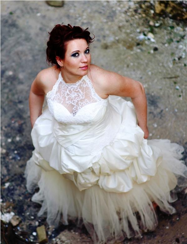Невеста в стиле trash