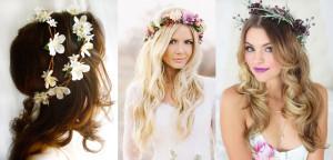 Рустик с цветами в волосах