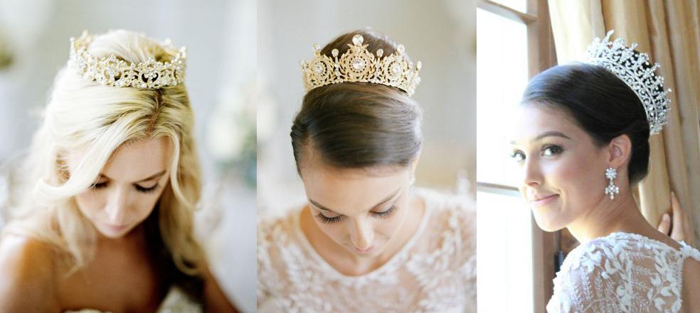 Прическа с короной